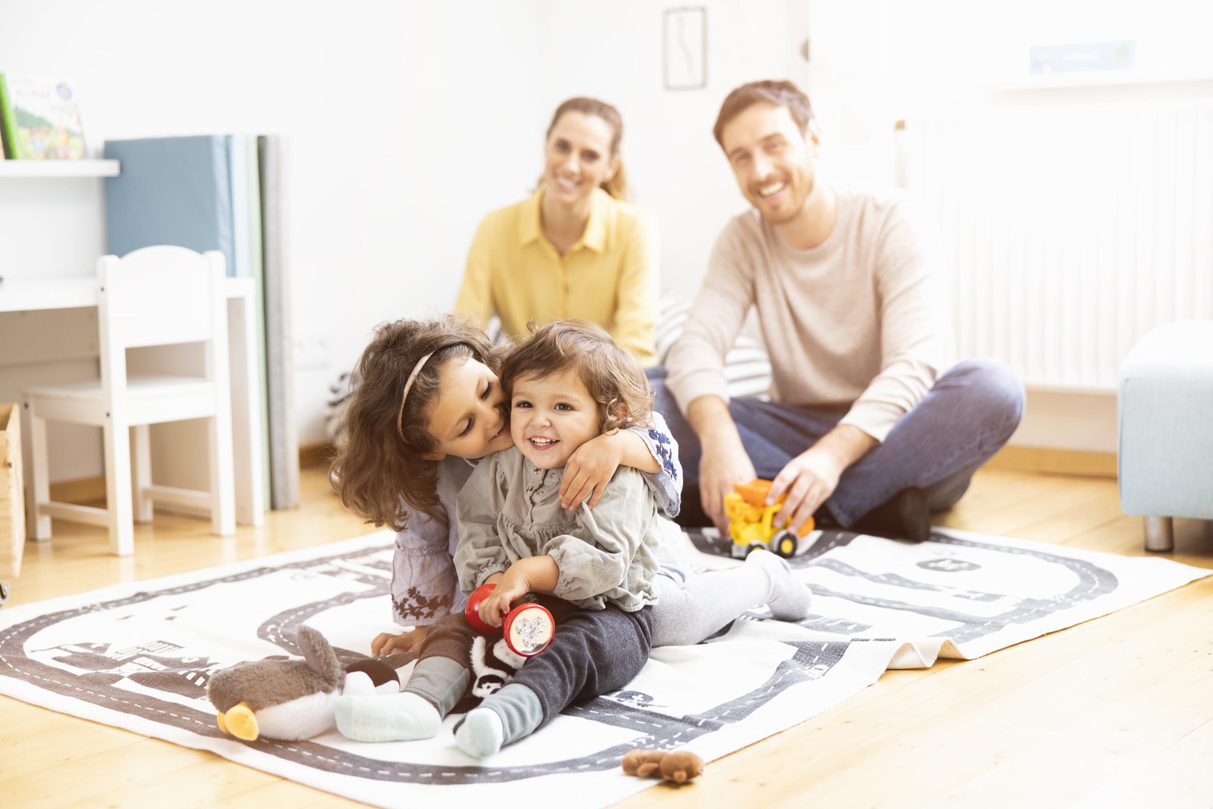 Protección y planificación familiar para una mayor relajación, tiempo y felicidad con la familia