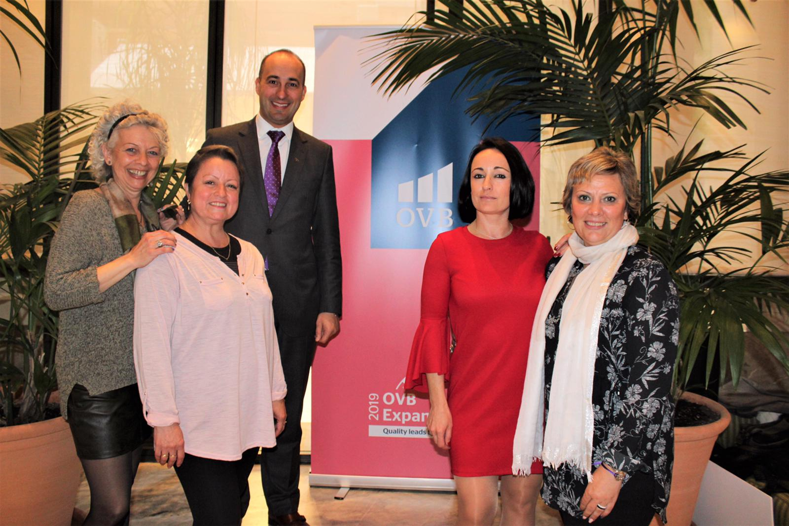 La Delegación OVB Mallorca se une como Patrocinador Oficial para la lucha contra el cáncer de mama